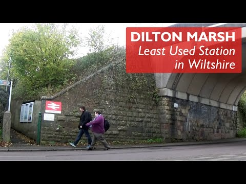 Dilton Marsh - Least Used Station In Wiltshire