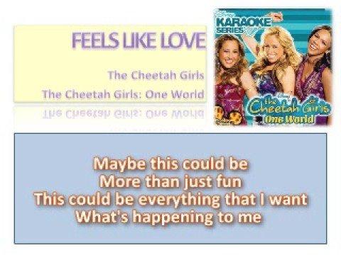 07 Feels Like Love - Official Karaoke /Instrumental (Lyrics)