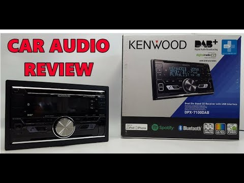 Kenwood DPX-7100DAB Bluetooth Car Stereo Review | DAB - SPOTIFY  - HANDS FREE