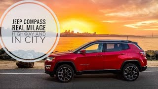Jeep Compass Real Life Milage & EPB (Electronic Parking Brake) Feature Explained