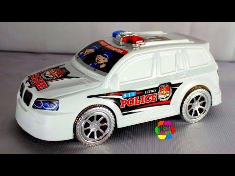 اكبر لعبة سيارة شرطة حقيقية للاطفال العاب اولادالبنات Real huge police car toy game