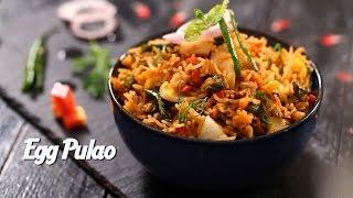 Egg Pulao Recipe With Ching's Schezwan Fried Rice Masala | अंडा पुलाव | IFN Ka Dhaba | Seema Gadh