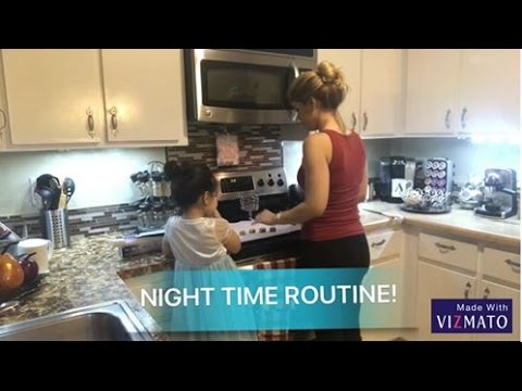 MY NIGHT TIME ROUTINE! - YouTube
