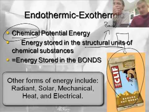 Intro to Chemistry 6.3:  Energy Transformations (1/3)