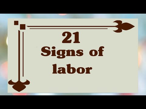 21 Signs Of Labor||early Labor Symptoms ||Signs That Labor Is 24 to 48 Hours Away || #pregnancyinfo