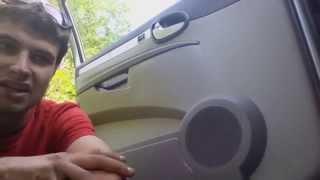 Door panel removal: buick rendezvous