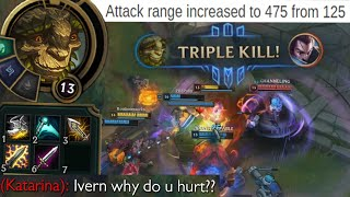 Ivern but he is permanently ranged now so he is now an AD Carry and also Rengar is there lool