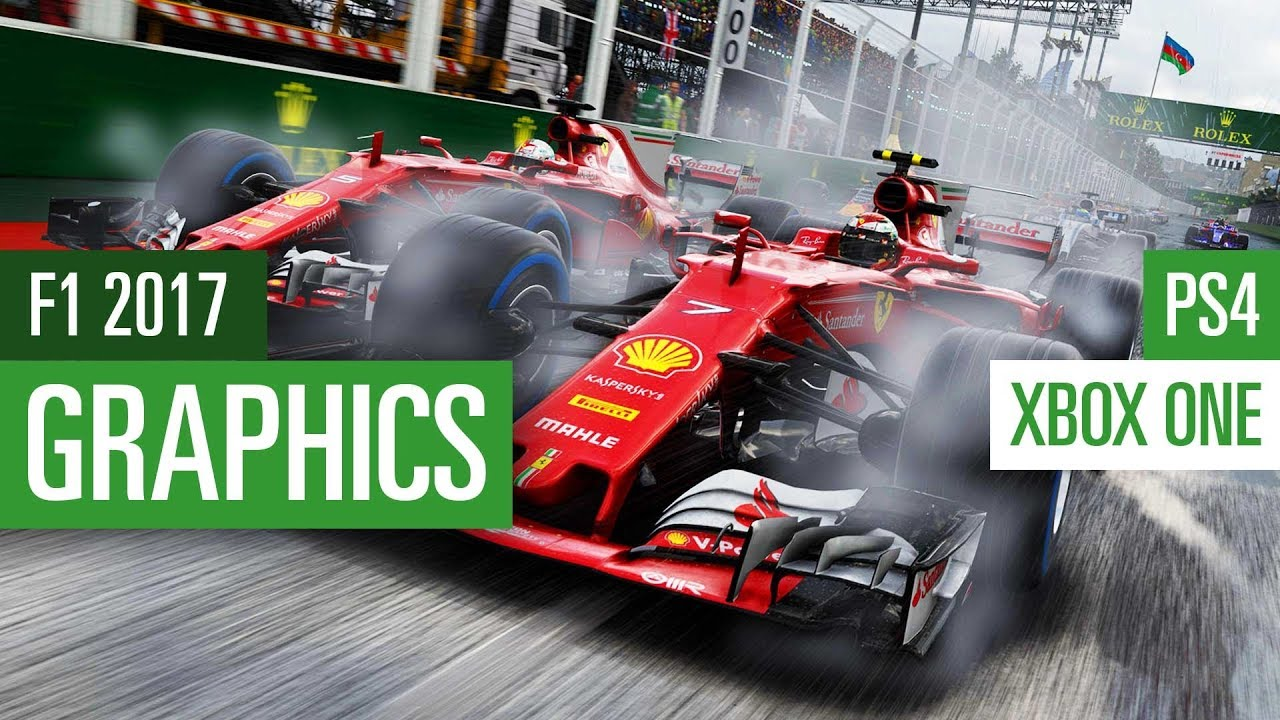 f1 2017 xbox one vs ps4 grafikvergleich graphics. Black Bedroom Furniture Sets. Home Design Ideas