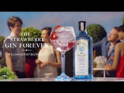 Summer Of Bombay: Strawberry Gin Forever