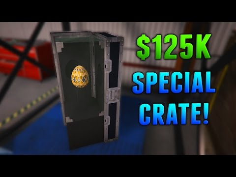 GTA Online: $125k Special RARE Crate Guide - High Value Cargo! (GTA 5 CEO Missions)