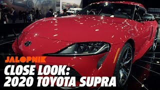 Up Close and Hands on With the 2020 Toyota Supra | Jalopnik