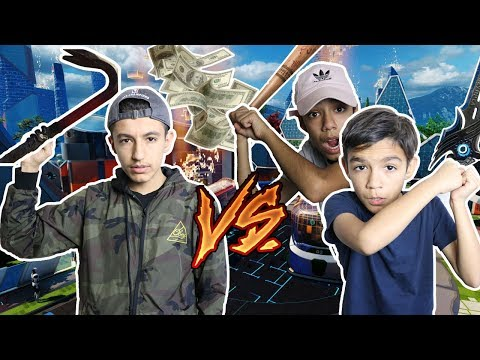 2V1 For $100! Black Ops 3 DLC Weapon Battle Against Brothers!