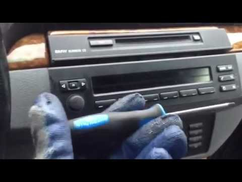 DIY how to replace BMW X5 2002 44i radio and CD YouTube