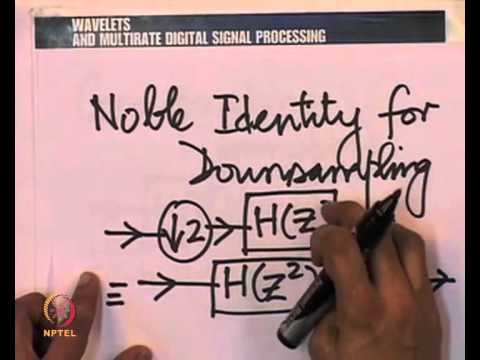 Mod-01 Lec-32  Nobel Identities & The Haar Wave Packet Transform