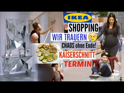 ikea shopping wir trauern kaiserschnitt termin steht hellofresh mayra joann youtube. Black Bedroom Furniture Sets. Home Design Ideas