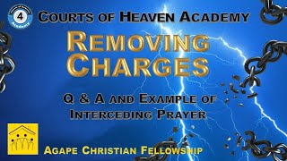 Example of Interceding Prayer and Q & A