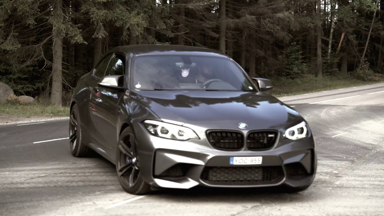 bmw m2 with full ipe titanium f1 exhaust and ipe race. Black Bedroom Furniture Sets. Home Design Ideas