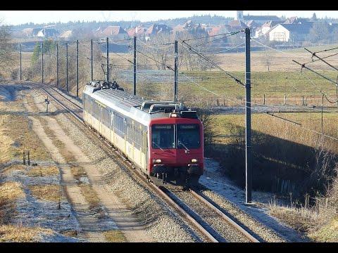 TRAIN n°96439 Frasne Neuchâtel en rame CFF Suisse