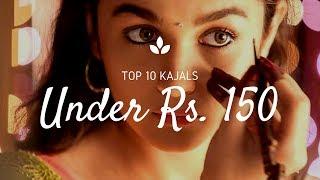 Top 10 best kajals under Rs.150 in India {Best affordable Kajals in India}