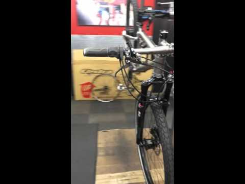 Dean Duke FS Titanium Bike, Roholff Hub, Shimano Alfine Dynamo, Headlight, USB Charging Top Cap