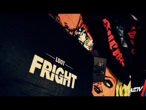 "Loot Fright ""Love Sucks"" Unboxing February 2019 AZTV Loot Crate"