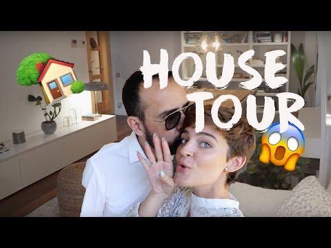 HOUSE TOUR - OS ENSEÑAMOS NUESTRA CASA!!!!  | LAURA ESCANES