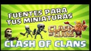 Como descargar la Fuente de Clash of Clans para PC Totalmente Gratis