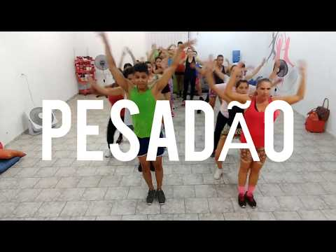 Coreografia Pesadão - Iza Feat Marcelo Falcão