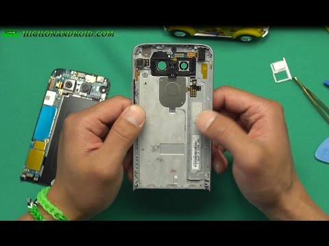 LG G5 Disassembly Reveals Metal Unibody...