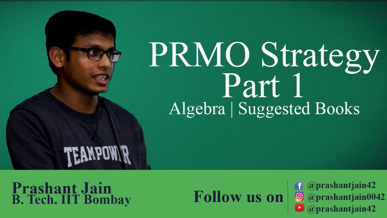 PRMO 2019 Strategy   Algebra Number System Geometry   Suggested