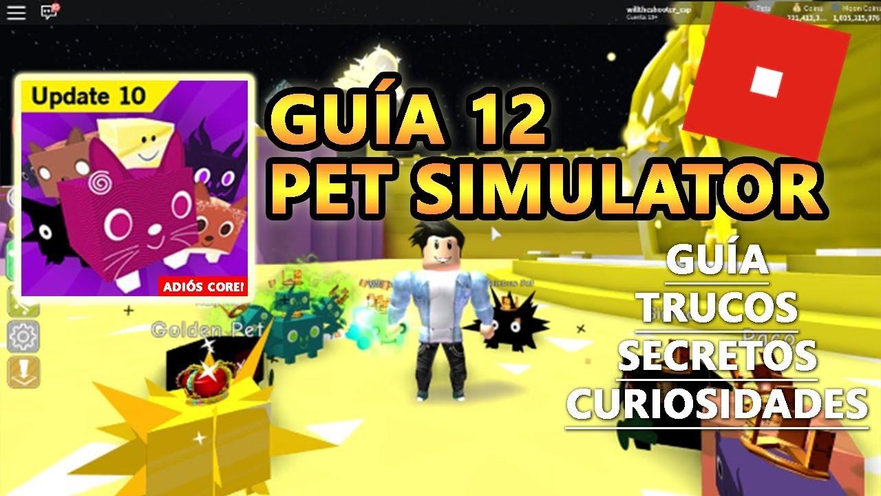 Pet Simulator, Como Tener Tier 18 Rainbow y Gold Fácil + Rápido, Roblox Español Guía Tutorial 12