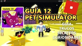 Pet Simulator, How to Have Tier 18 Rainbow and Gold Easy + Fast, Roblox English Tutorial Guide 12