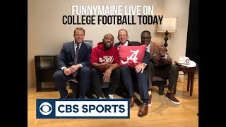 FunnyMaine on College Football Today (CBS)