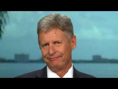 Gary Johnson talks presidential race, scaling Everest