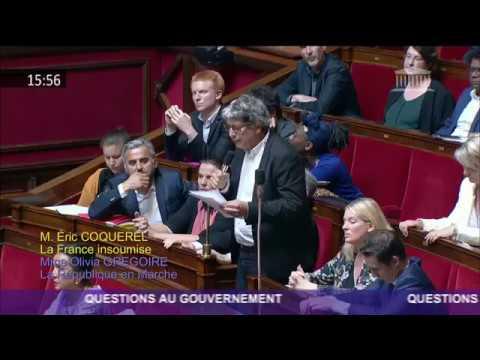 IL FAUT RAPPELER L'AMBASSADEUR DE FRANCE EN ISRAËL - Éric Coquerel QAG sur Gaza