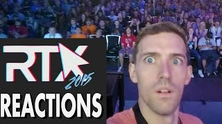 RTX 2015 Reactions  - 1001 Spikes Gameplay
