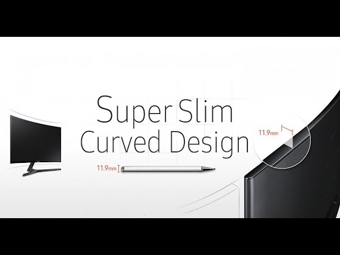 "Монітор 23.5"" Samsung Curved C24F396F (LC24F396FHIXCI) - HDMI-кабель у комплекті"