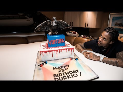 Lil Durk Birthday in Miami with Adrien Broner, Signed To The Streets 3 studio session & more