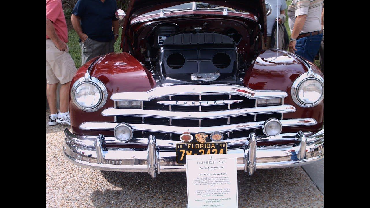 1948 Pontiac Convertible Red
