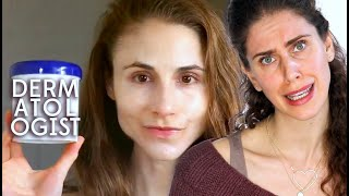 Esthetician Reacts | Dermatologist Dr Dray's Nighttime Skincare Routine | Go To Bed With Me