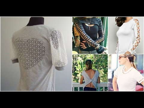50 DIY T-shirt Refashion Ideas - Fashion Trends