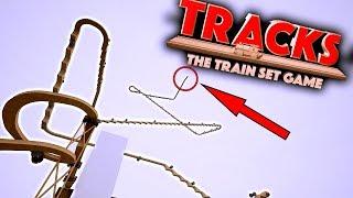 SUPER HIGH TRAIN DROP!! - Tracks - The Train Set Game Gameplay Ep2