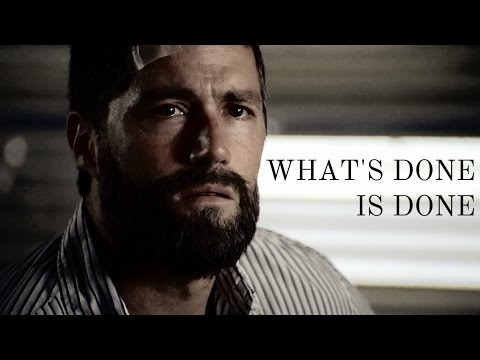 what's done is done || LOST (Jack/Locke)