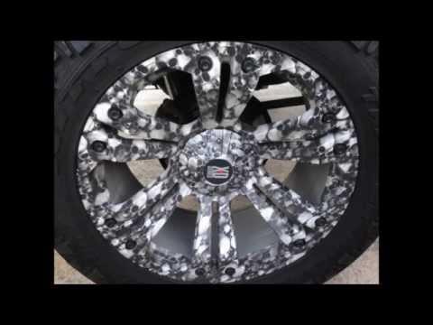 Hydro Dipped Car Rims Youtube