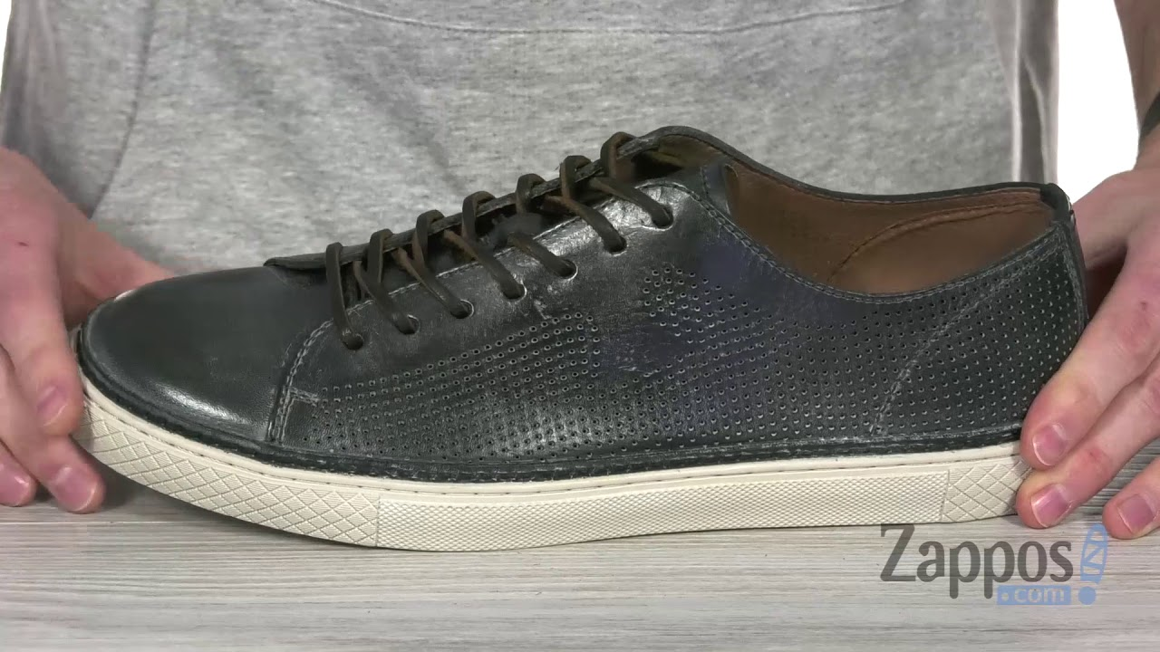 FRYE Mens Gates Perf Logo Low Sneaker