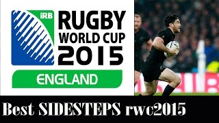 "Rugby World Cup 2015 - BEST SIDESTEPS highlights compilation "" Magic Feets"""