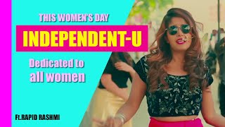 Rapid Rashmi   Independent-U   First Music Solo   Kannada Rap Song  