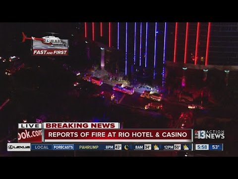 Electrical fire reported at Rio Las Vegas