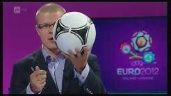 Jalkapallon EM-kisat 2012 loppuottelun kisastudio jäähyväiset