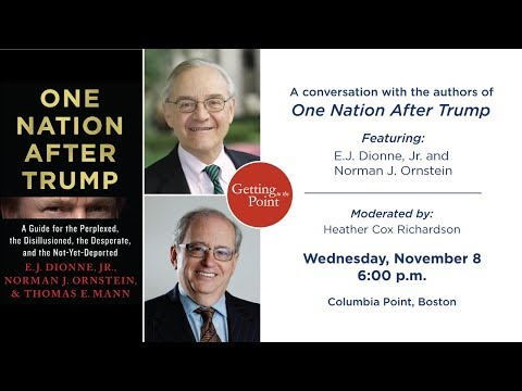 Getting to the Point: A Conversation with the Authors of One Nation After Trump